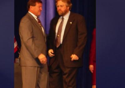 Dave Jones Receives Eagle Award 2003