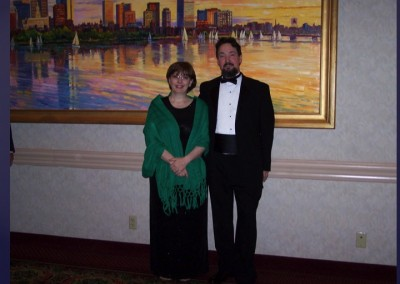 ASBO President Melody Douglas and Dennis 2006