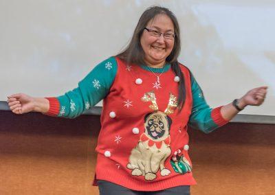 Lila's Sweater 2017